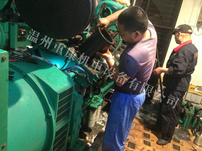 某厂房机组维修